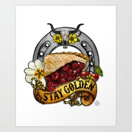 You're PIE-FECT, Just As You Are Art Print