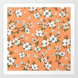 Lovable Flowers 19 Art Print