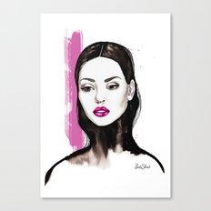Turtleneck Canvas Print
