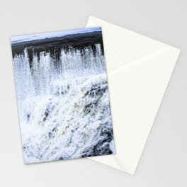 Winter Waterfalls Stationery Cards