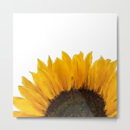 Sunflower - I Metal Print