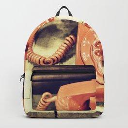 Vintage Phone Backpack