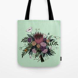 Beetles and Flowers Tote Bag