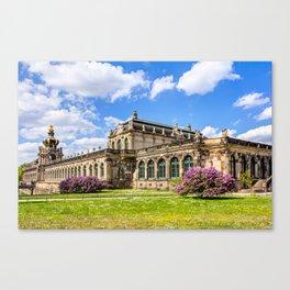 Zwinger in Dresden Canvas Print