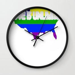 LGBT Wall Clock