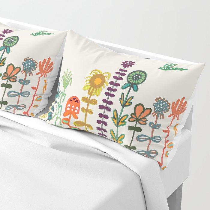 Happy garden Pillow Sham