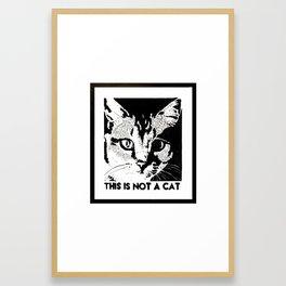 Magritte's Humor Framed Art Print