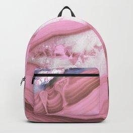 Glamorous Pink Agate Backpack