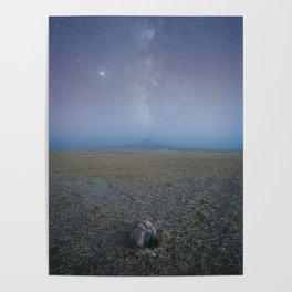 Galactic Savannah Poster