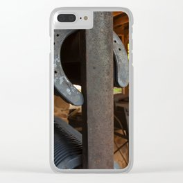 Farriers Station Clear iPhone Case