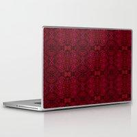 persian Laptop & iPad Skins featuring Persian rugs by VargaMari