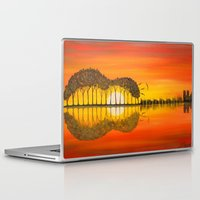 guitar Laptop & iPad Skins featuring Guitar by OLHADARCHUK