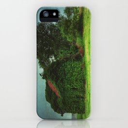 house with ghosts  iPhone Case