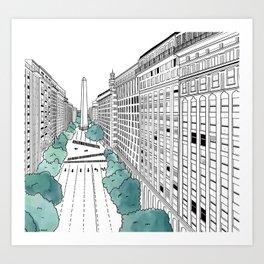 Buenos Aires 2020 Art Print