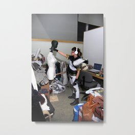 Role Play Metal Print