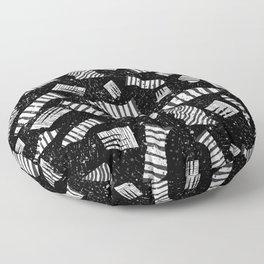 Zebra Elements Floor Pillow