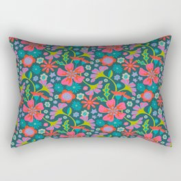 POP FLORAL Pattern Rectangular Pillow
