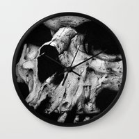 toothless Wall Clocks featuring Toothless by Danielle Mariah