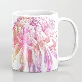 Etching Style Series Modern Vintage Chrysanthemum vol.3 Coffee Mug