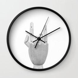 rock on Wall Clock