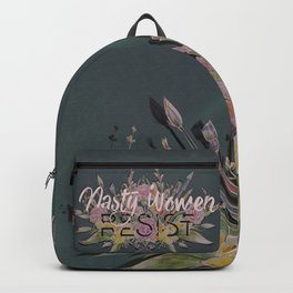 Nasty Women Resist: Les Fleurs de la Resistance Backpack