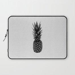 Pineapple Black & White Laptop Sleeve