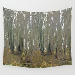 With an eye made quiet Wall Tapestry