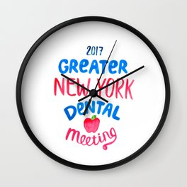 Greater New York Dental Meeting Wall Clock