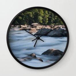 Flowing Water - Farmington River Wall Clock