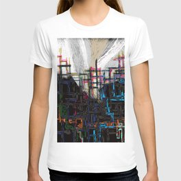 building installation T-shirt