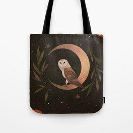 Barn Owl Magic Tote Bag