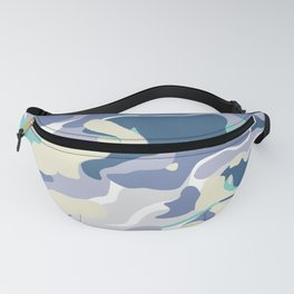 Purple Marble Fanny Pack