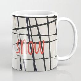 Best foot forward - Let it snow Coffee Mug