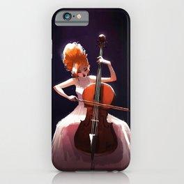 The Cello Player iPhone Case