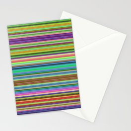 Summer Stripes – Clock 2 - Living Hell Stationery Cards