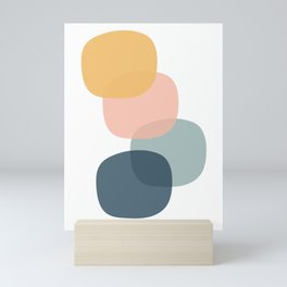 Minimal Circles Mini Art Print