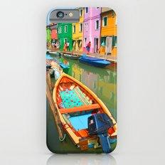burano, italy - boat iPhone 6s Slim Case