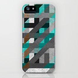 Line Tiles Textured iPhone Case