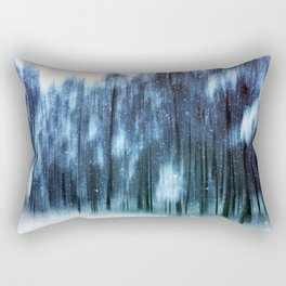 Melody in blue Rectangular Pillow