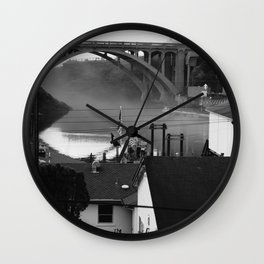 The Smallest Harbor in the World Wall Clock