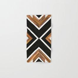Urban Tribal Pattern No.1 - Concrete and Wood Hand & Bath Towel