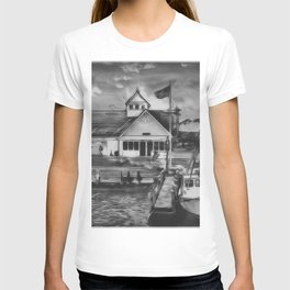 Coastguard Hyannis BW T-shirt