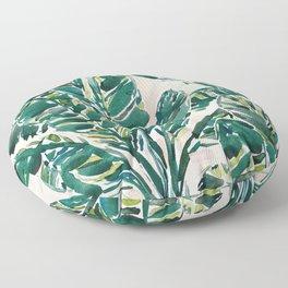 BIG FEELINGS Banana Leaf Tropical Floor Pillow