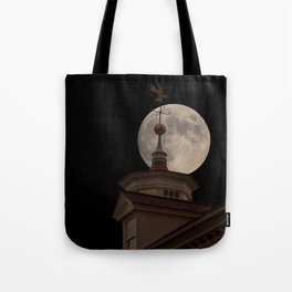 Moon Over Mount Vernon Tote Bag