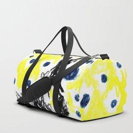 blue balloons Duffle Bag