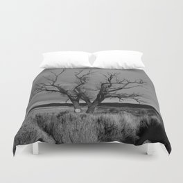 One Lonely Tree Duvet Cover