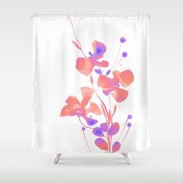 Organic Impressions 334zb by Kathy Morton Stanion Shower Curtain