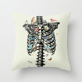 The Cage Throw Pillow