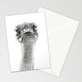Cute Ostrich SK053 Stationery Cards