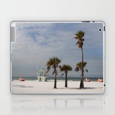 Clearwater Beach In Wintertime Laptop & iPad Skin